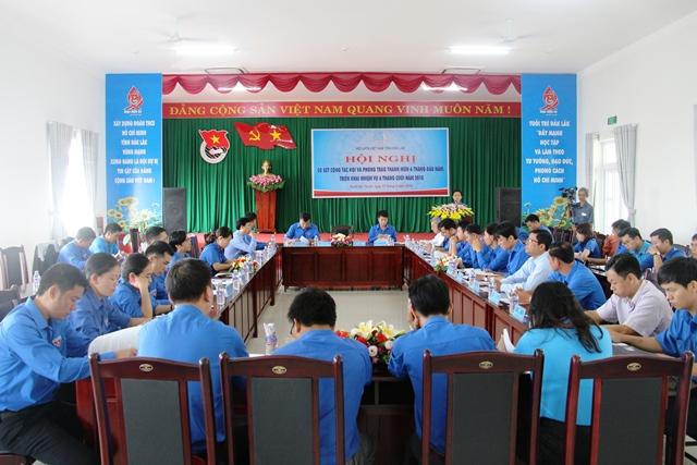 Hội nghị sơ kết công tác Hội và phong trào thanh niên 6 tháng đầu năm và triển khai nhiệm vụ 6 tháng cuối năm 2018