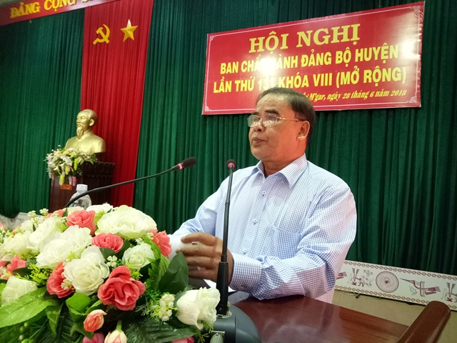 Hội nghị Ban Chấp hành Đảng bộ huyện Cư M'gar lần thứ 13 khóa VIII (mở rộng)