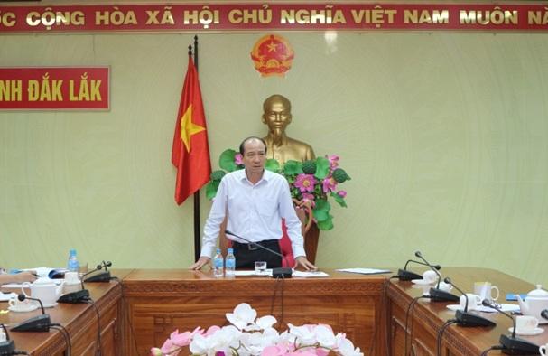 UBND tỉnh làm việc với Công ty Cổ phần Đầu tư và Phát triển Nguyễn Kim.