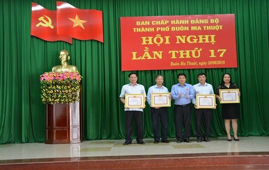 Hội nghị Ban Chấp hành Đảng bộ thành phố Buôn Ma Thuột mở rộng lần thứ 17