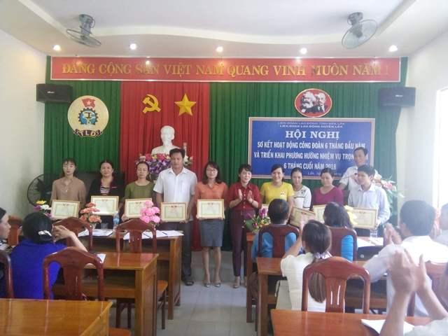 Huyện Lắk sơ kết hoạt động Công đoàn 6 tháng đầu năm 2018