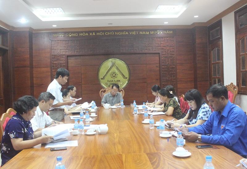Ban Pháp chế thẩm tra văn bản trình tại Kỳ họp thứ 6 HĐND tỉnh