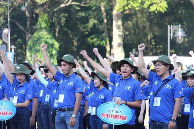 Lễ Xuất quân Chiến dịch TNTN Mùa hè xanh năm 2018