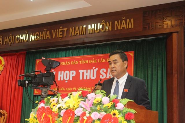 Khai mạc Kỳ họp thứ sáu HĐND tỉnh khóa IX