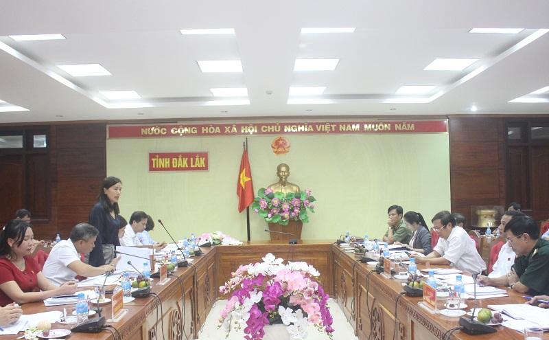Đoàn công tác của Ủy ban Đối ngoại Quốc hội làm việc với UBND tỉnh Đắk Lắk