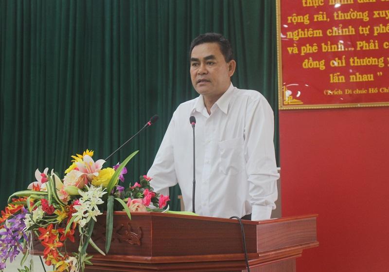 Thường trực Tỉnh ủy làm việc với Huyện ủy Krông Năng