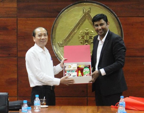 UBND tỉnh làm việc với Công ty TNHH Nestlé Việt Nam