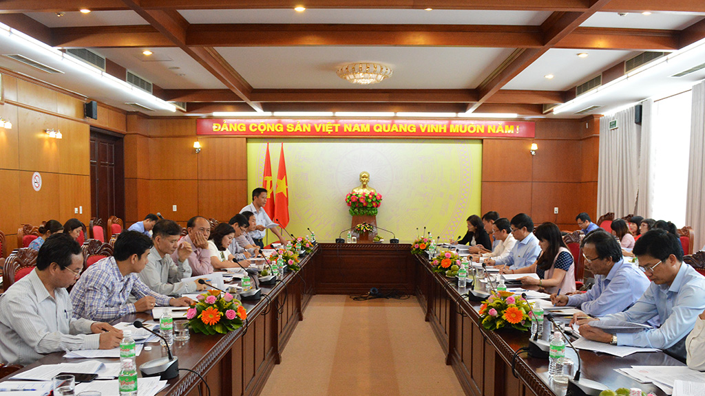Đoàn công tác của Bộ Lao động, Thương binh và Xã hội làm việc tại Đắk Lắk