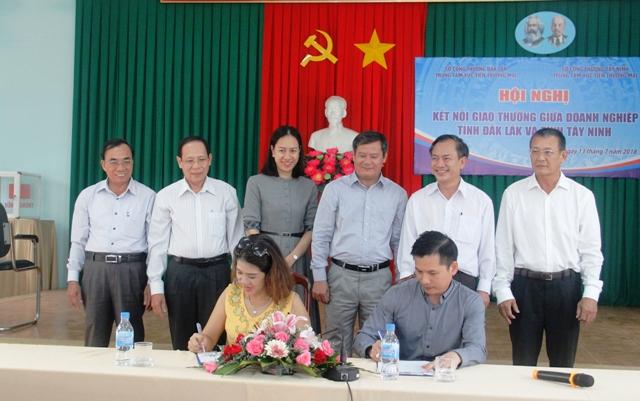 Doanh nghiệp Đắk Lắk và Tây Ninh kết nối giao thương