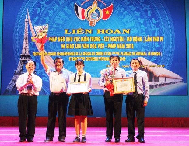 Liên hoan tiếng hát Pháp ngữ các tỉnh Miền Trung – Tây Nguyên lần thứ IV và Giao lưu Văn hóa Việt – Pháp năm 2018