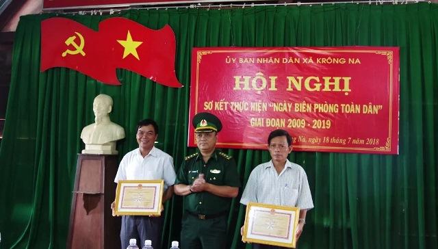 """Xã Krông Na: Phát huy hiệu quả """"Ngày Biên phòng toàn dân"""""""