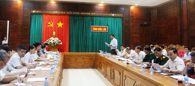 Đoàn khảo sát của Bộ Tài nguyên và Môi trường làm việc với UBND tỉnh về công tác quản lý, sử dụng đất nông, lâm nghiệp