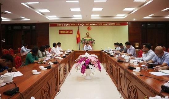 Ban Tổ chức Cuộc thi khởi nghiệp tổ chức họp các thành viên và các tiểu ban giúp việc