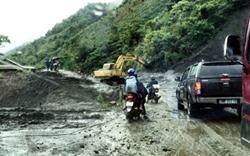 Đảm bảo ATGT hệ thống đường địa phương mùa mưa bão