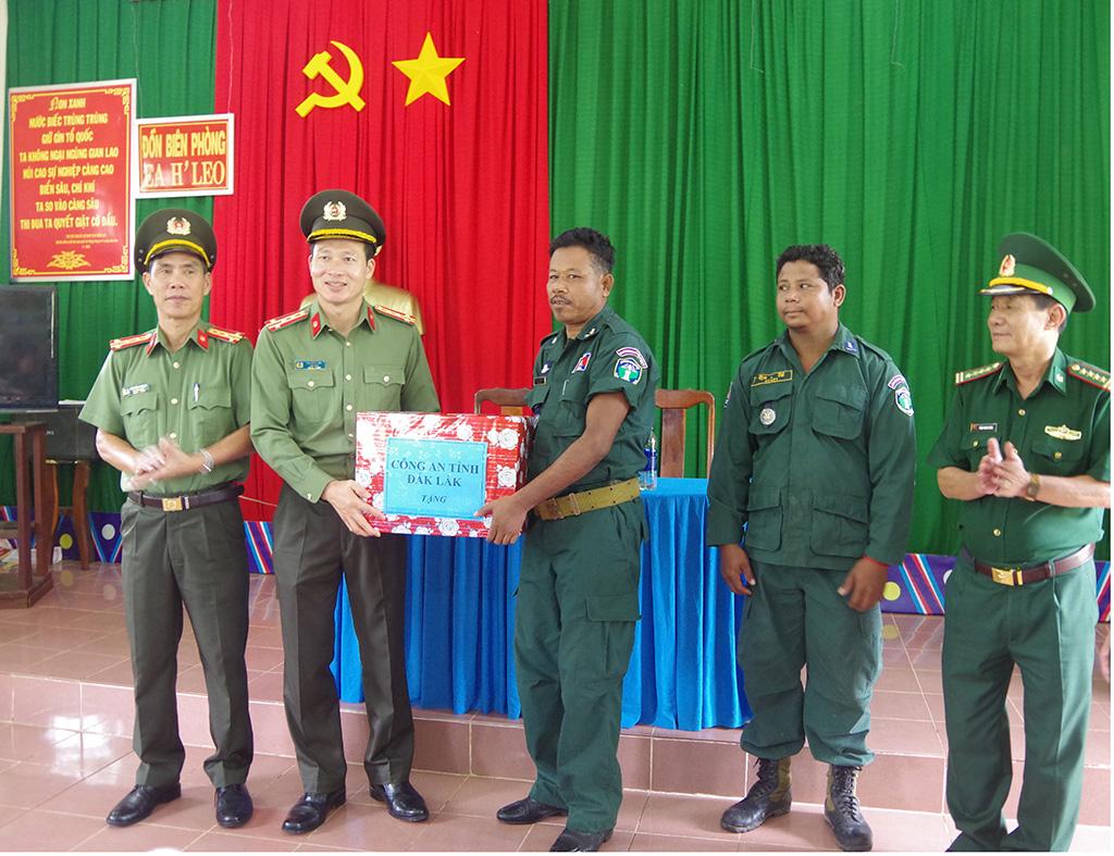 Công an và Bộ đội Biên phòng tỉnh nâng cao công tác phối hợp