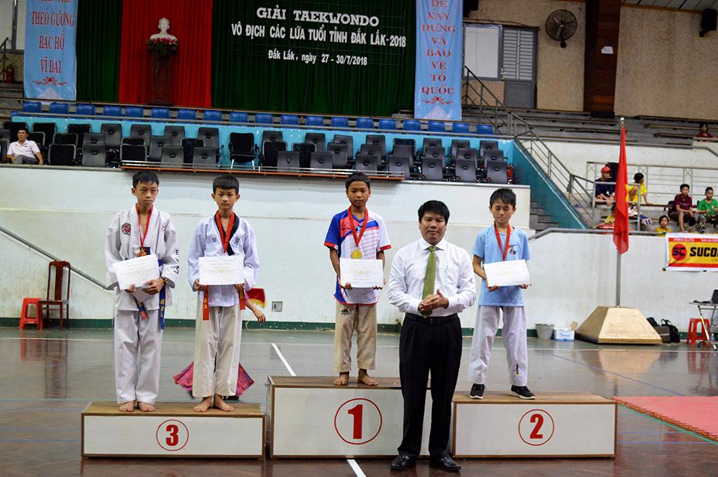 Giải Teakwondo tỉnh Đắk Lắk năm 2018 -Thành phố Buôn Ma Thuột đạt giải Nhất toàn đoàn