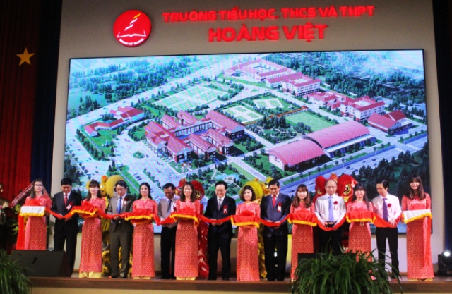 Trường Tiểu học, THCS và THPT Hoàng Việt khánh thành giai đoạn 2