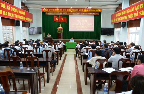 UBND thành phố Buôn Ma Thuột: Hội nghị đánh giá tình hình thực hiện công tác tháng 7 và triển khai nhiệm vụ trọng tâm tháng 8 năm 2018