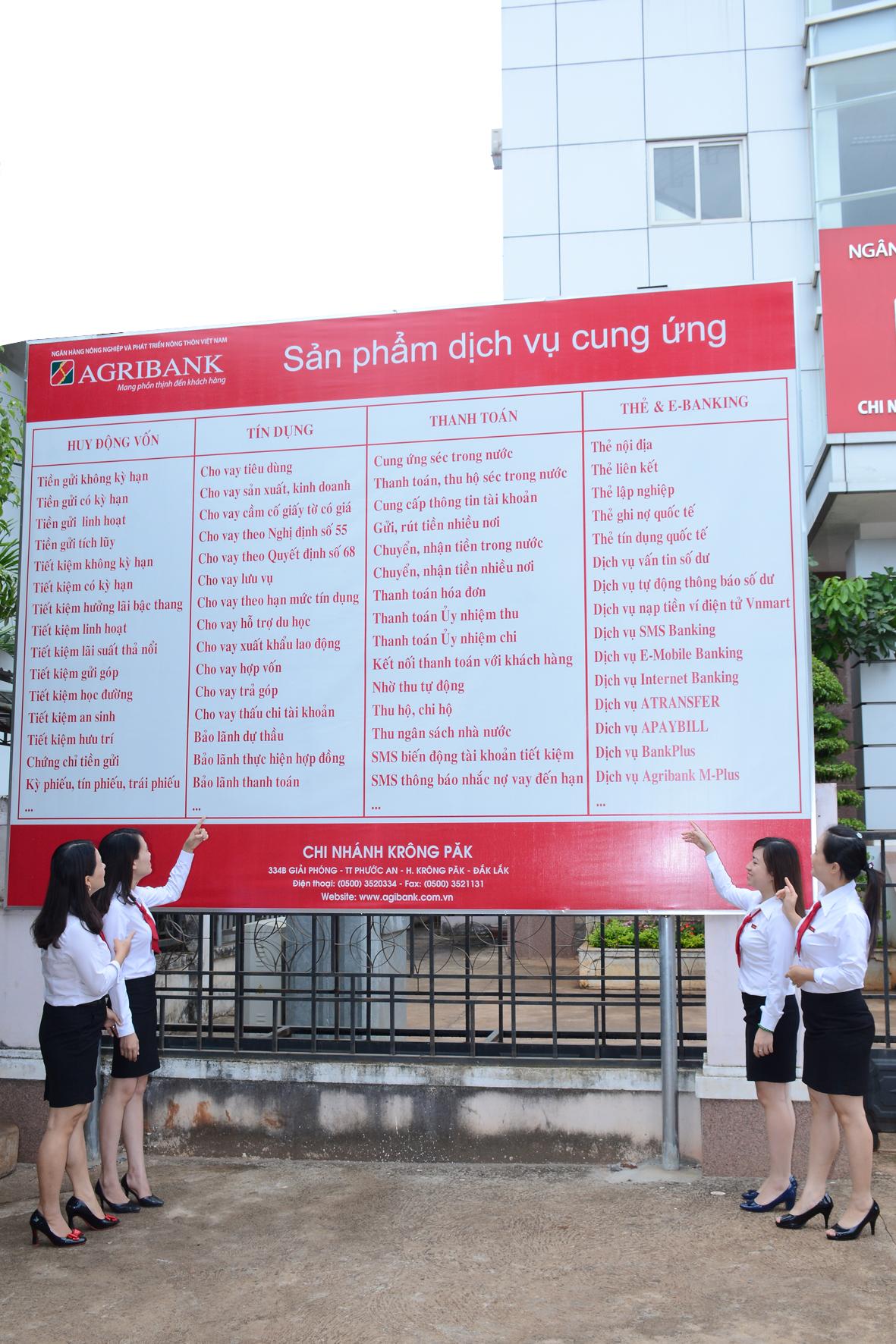 Agribank Đắk Lắk: Nỗ lực cung ứng dịch vụ hiện đại đến khu vực nông thôn