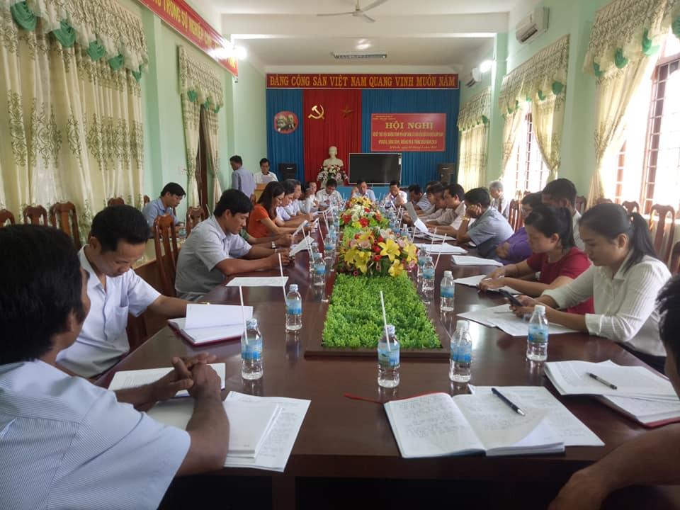 Huyện ủy M'Đrắk:Tổ chức Hội nghị sơ kết thực hiện chương trình phối hợp công tác dân vận giữa 03 huyện giáp ranh M'Đrắk, Sông Hinh, Krông Pa 6 tháng đầu năm 2018