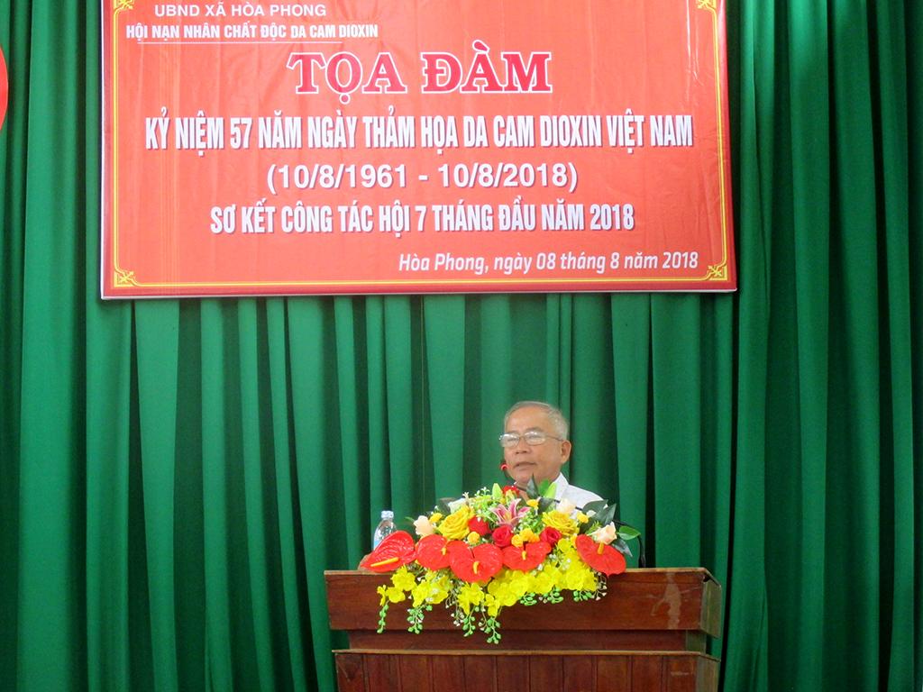 Gặp mặt kỷ niệm  57 năm ngày thảm họa da cam Việt Nam (10/8/1961 – 10/8/2018)