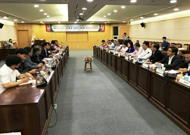 Đoàn công tác của tỉnh Đắk Lắk thăm và làm việc tại tỉnh Jeollabuk – do –Hàn Quốc