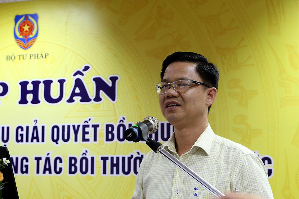 Bộ Tư pháp tập huấn về công tác bồi thường nhà nước tại Đắk Lắk