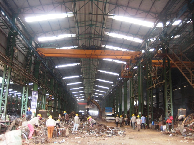 Kiến nghị Công ty cổ phần Thép Đông Nam Ákhắc phục tồn tại trong nhập khẩu và sử dụng phế liệu