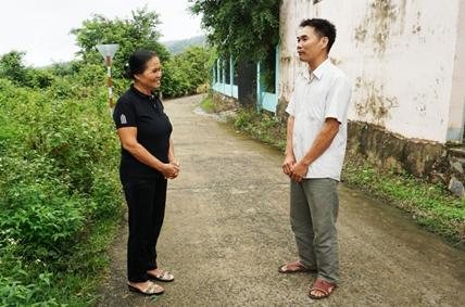 Xã Krông Na chú trọng công tác tuyên truyền bảo vệ an ninh biên giới