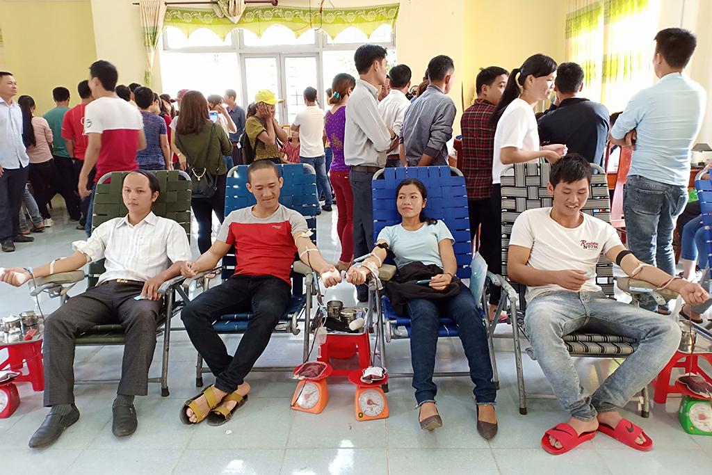 Huyện Lắk tổ chức Hiến máu tình nguyện đợt II năm 2018