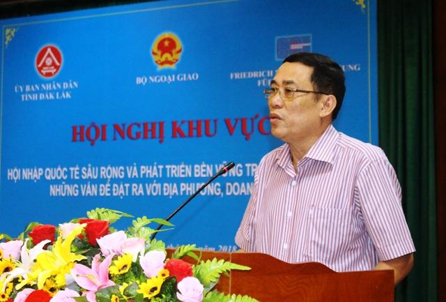 Hội nghị khu vực về hội nhập kinh tế những vấn đề đặt ra với địa phương, doanh nghiệp