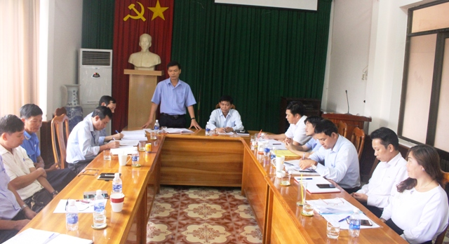 Kiểm tra công tác cải cách hành chính tại Sở Giao thông Vận tải