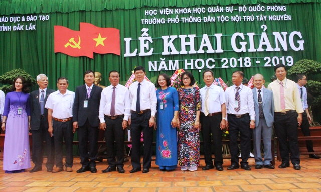 Trường Phổ thông Dân tộc Nội trú Tây Nguyên khai giảng năm học 2018-2019