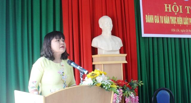 Hội thảo đánh giá 10 năm thực hiện Luật phòng, chống bạo lực gia đình