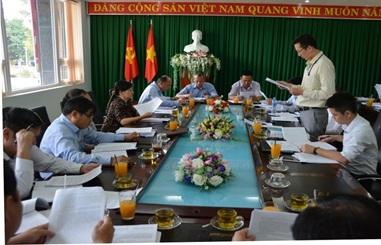 Đoàn kiểm tra Ban Nội chính Tỉnh ủy làm việc với Ban Thường vụ Thành ủy Buôn Ma Thuột