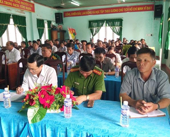 Xã Ea Pil, huyện M'Đrắk: Tổ chức Hội nghị thảo luận thúc đẩy công tác xây dựng Nông thôn mới