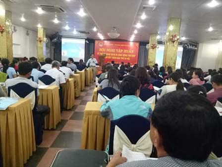 Sở Lao động – Thương binh & Xã hội tỉnh Đắk Lắk tổ chức Hội nghị tập huấn về hệ thống chính sách và hoạt động trợ giúp xã hội cho đối tượng bảo trợ xã hội.