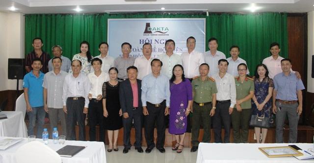 Hiệp hội Du lịch tỉnh sơ kết hoạt động 08 tháng đầu năm 2018 và bầu chức danh Chủ tịch