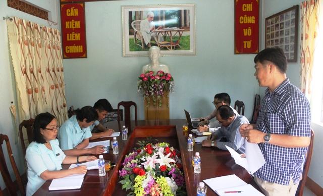 Kiểm tra công tác CCHC tại Trung tâm Bảo trợ xã hội tỉnh