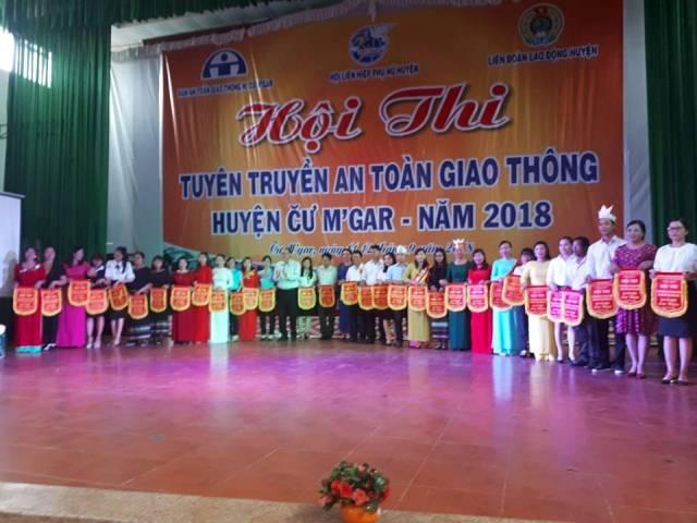 Huyện Cư M'gar: Khai mạc Hội thi tuyên truyền an toàn giao thông năm 2018