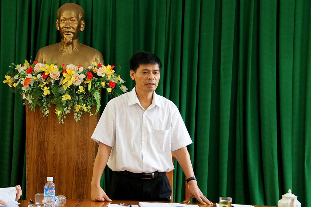 Đoàn Kiểm tra 1228 làm việc với UBND huyện Krông Ana