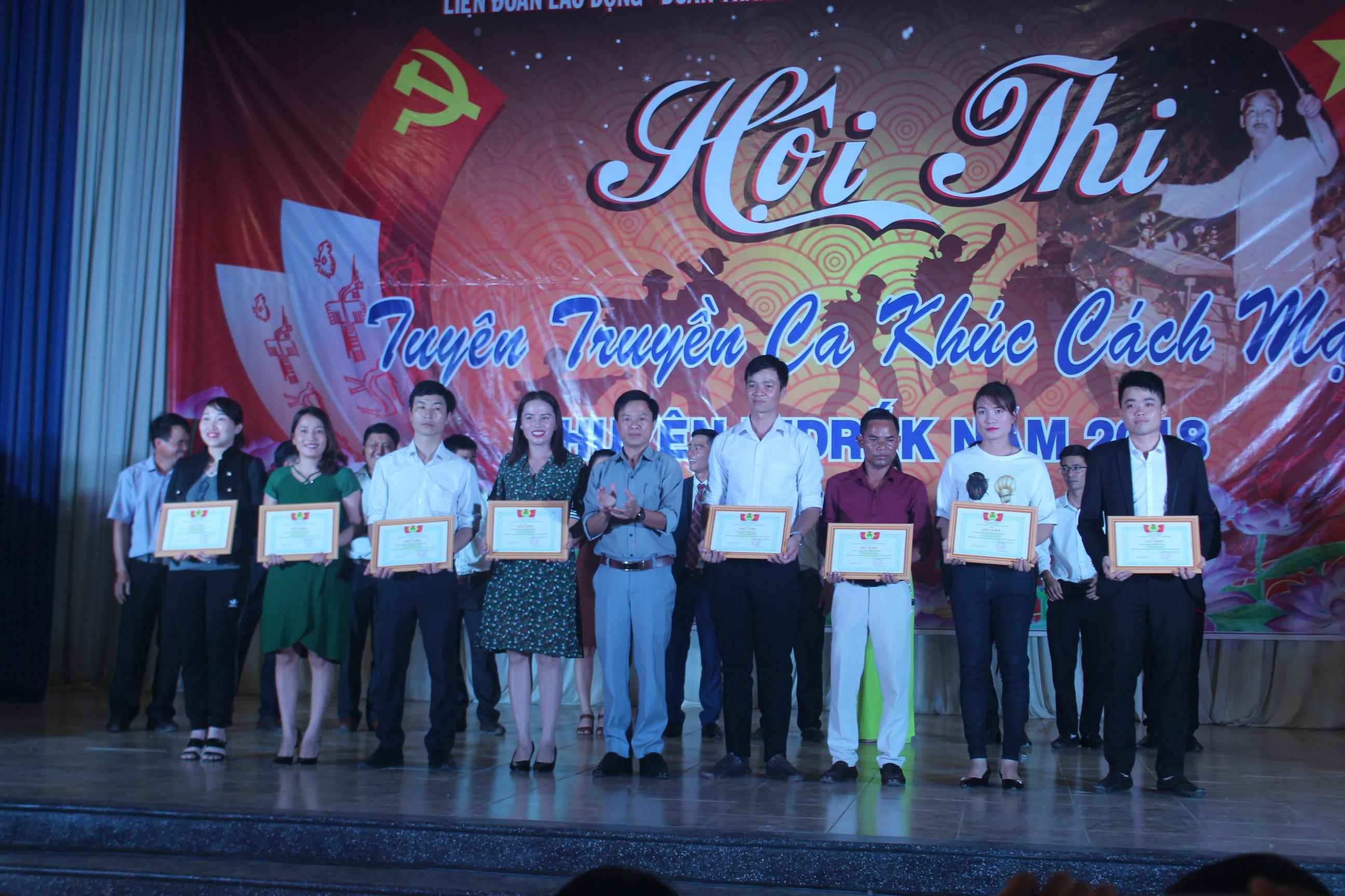 Ghi nhận từ Hội thi tuyên truyền ca khúc cách mạng huyện M'Đrắk năm 2018