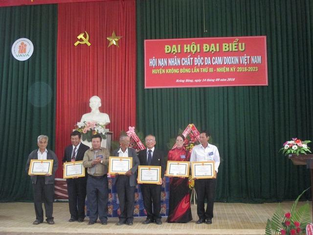 Đại hội Hội Nạn nhân chất độc da cam/dioxin huyện Krông Bông lần thứ III (nhiệm kỳ 2018 – 2023)
