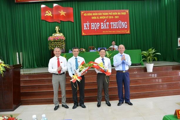 Kỳ họp bất thường HĐND thành phố Buôn Ma Thuột khóa XI nhiệm kỳ 2016 – 2021, bầu bổ sung chức danh Phó Chủ tịch HĐND và Phó Chủ tịch UBND thành phố Buôn Ma Thuột