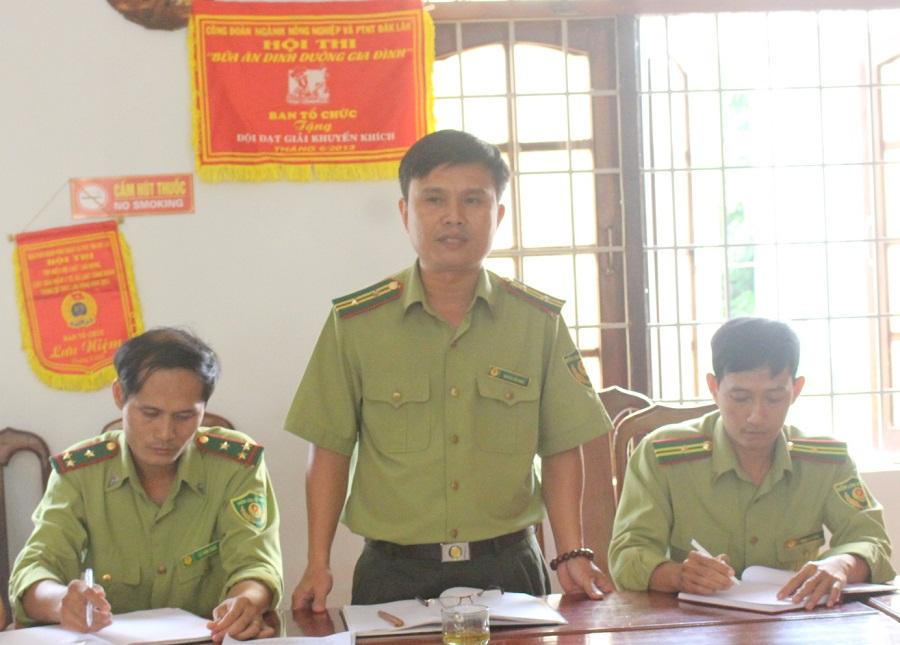 Kiểm tra kết quả thực hiện cải cách hành chính tại Ban Quản lý rừng đặc dụng Nam Ka