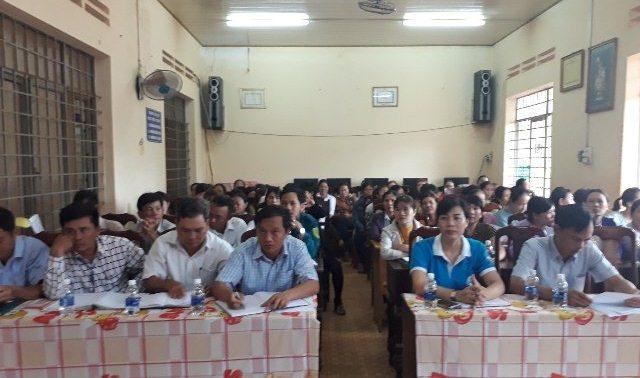 Hội Liên hiệp Phụ nữ xã Ea H'leo, huyện Ea H'leo ra mắt Tổ tư vấn cộng đồng