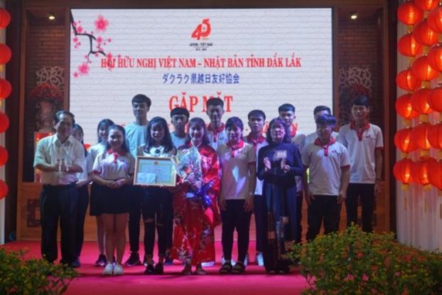Giao lưu hữu nghị Việt Nam - Nhật Bản tỉnh Đắk Lắk năm 2018
