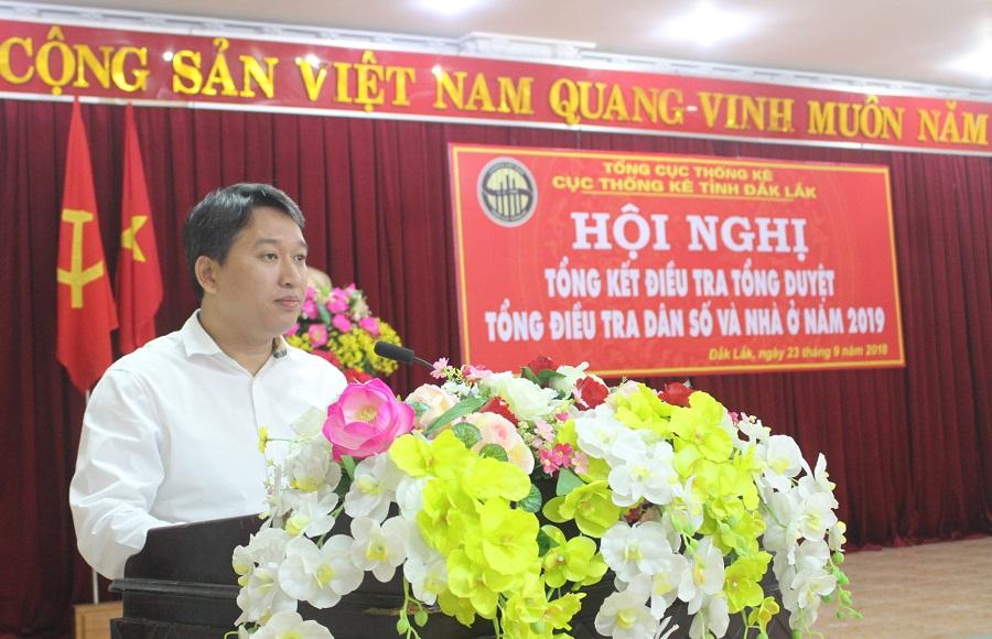 Hội nghị tổng kết điều tra tổng duyệt Tổng điều tra dân số và nhà ở năm 2019 tại Đắk Lắk