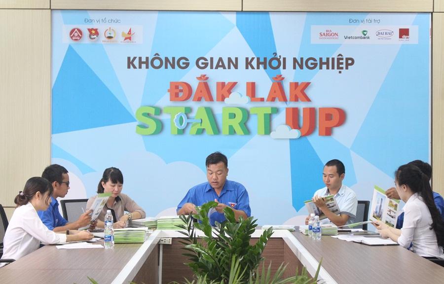 Sơ loại hồ sơ dự thi Cuộc thi khởi nghiệp, khởi sự kinh doanh tỉnh Đắk Lắk năm 2018