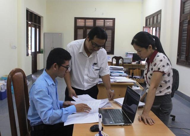 Kiểm tra CCHC tại Bảo hiểm xã hội huyện Cư Kuin